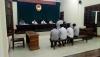 Lãnh đạo VKSND huyện Hàm Yên trực tiếp thực hành quyền công tố, kiểm sát xét xử.
